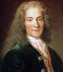 Voltaire über das Kritisieren