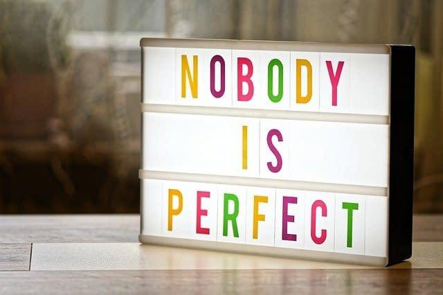 Überall ist das Perfekte nur im Imperfekten perfekt.